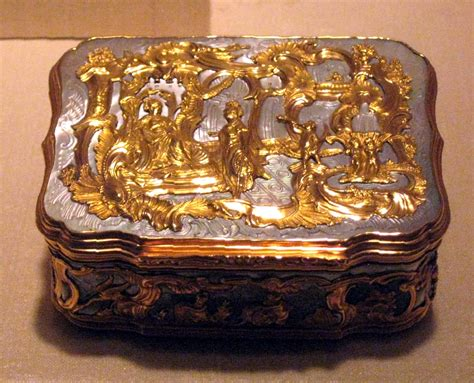 6430 gold decorative box decorative box