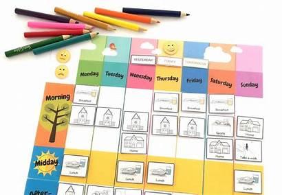 Weekly Planner Own Create Printable Kidslife Today