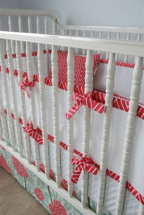 mesh crib bumper custom breathable mesh bumper and crib skirt by