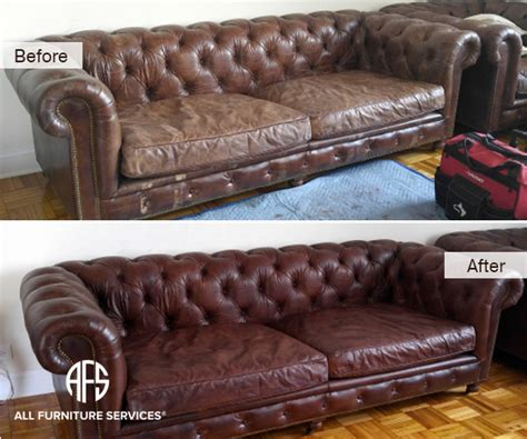 Leather Upholstery Repair Shop by All Furniture Services 174