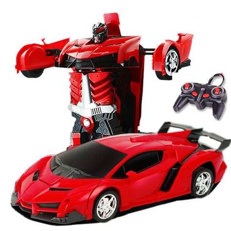Rc Car Toys Remote Control Transformation Robots Toy