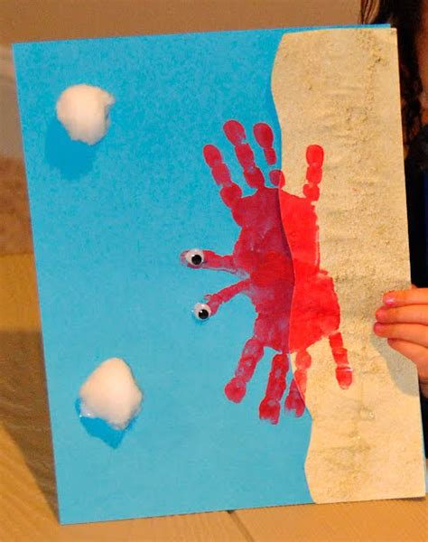 beach art activities for preschoolers camping crafts rv kid 665