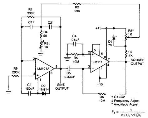 Square Wave Oscillator Circuit Diagram Electrical