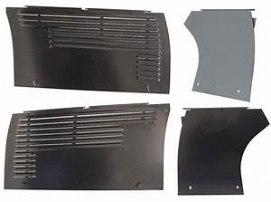 Engine Panel Set  4 Piece  - Oliver 60 Row Crop