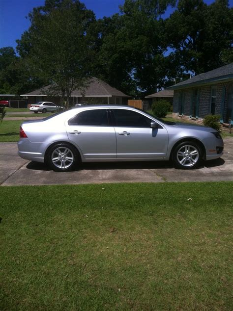 2010 ford fusion with mustang rims wheels tires ford