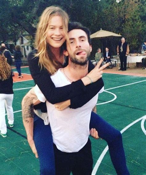 It's Adam Levine's 38th Birthday: See Cute Couples Photos