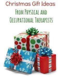Pediatric Therapy Corner Holiday Gift Giving Guide from