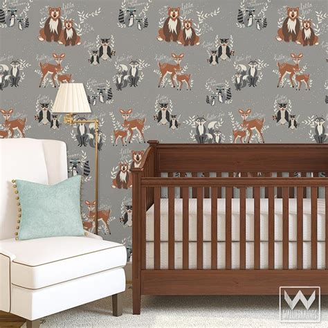 Animal Removable Wallpaper - animal bird butterfly removable wallpaper wallternatives