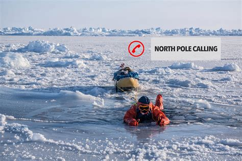 walk   north pole