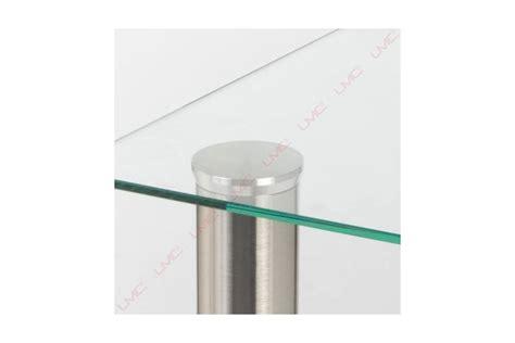 le de bureau sur pied platine de fixation pour plateau en verre accessoires