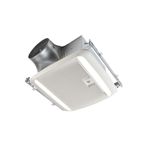 exhaust fan with light broan ultra green zb series 110 cfm multi speed ceiling