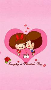 Happy Valentines Day iPhone 7 Wallpaper - 2018 Cute ...