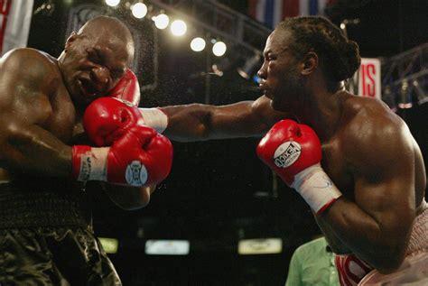 lennox lewis  mike tyson rematch brit boxing legend