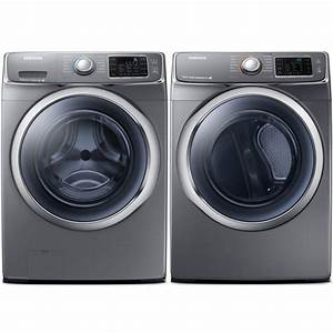Samsung Wf42h5600ap 27 U0026quot  Front Load Washer With 4 8 Cu  Ft