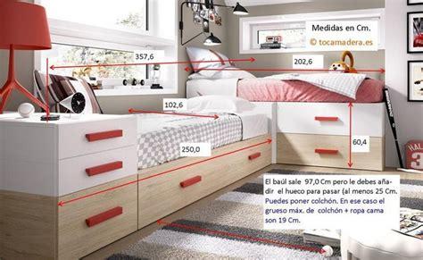 camas modulares en esquina  cama nido cajones