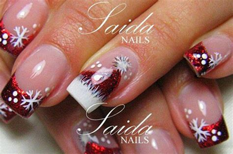 Cute Christmas Hat Nail Art Designs, Ideas, Trends