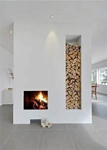 Holz Für Kamin : offene kamine im wohnraum pro und contra argumente ~ Markanthonyermac.com Haus und Dekorationen
