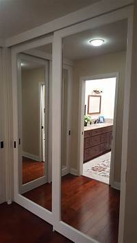 closet mirror doors 25+ Best Ideas about Mirror Closet Doors on Pinterest | Diy door closers, Closet remodel and Diy ...