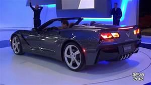 Corvette C7 Cabriolet : 2014 corvette c7 stingray cabriolet start up sound 2013 geneva motor show youtube ~ Medecine-chirurgie-esthetiques.com Avis de Voitures