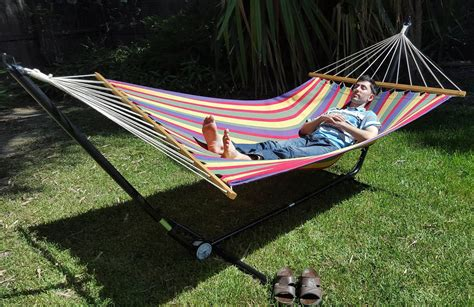 free standing hammock x large free standing hammock bright multi coloured