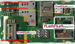 Nokia 206 Display Light Solution Picture Help Step By Step Easily Solve