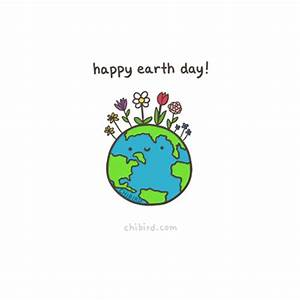 Happy Earth Day everyone! Let's take care of our... - chibird