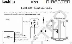 2015 Ford Fiesta  Door Locks