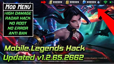 Mobile Legends Modhack V1.2.66.2665 .apk (no Root, Damage