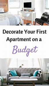 How to decorate your first apartment on a budget for Decorating your first apartment on a budget