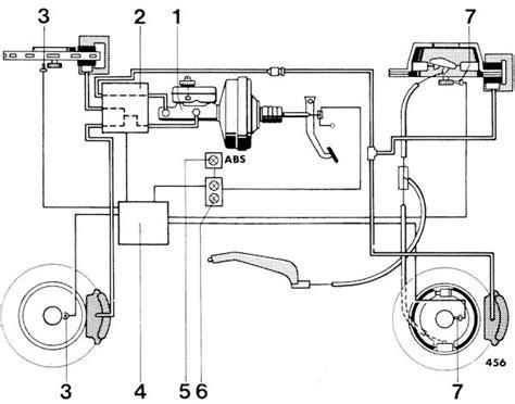 Porsche 944 Ab Wiring Diagram 944 brake circuit non abs porsche transaxles diagram