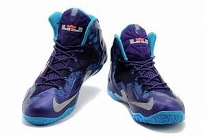 "Nike LeBron 11 ""Hornets"" Court Purple/Reflective Silver ..."