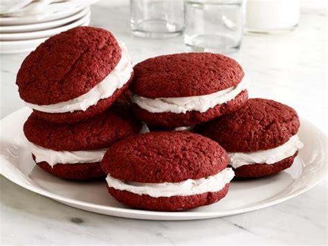 velvet whoopie pies red velvet whoopie pies recipe food network kitchen food network