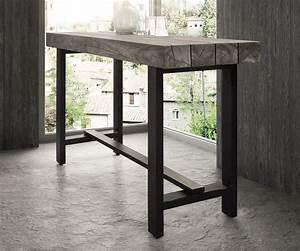 Bartisch 60 X 60 : bartisch blokk 165x60 cm akazie platin massivholz metall ~ Sanjose-hotels-ca.com Haus und Dekorationen
