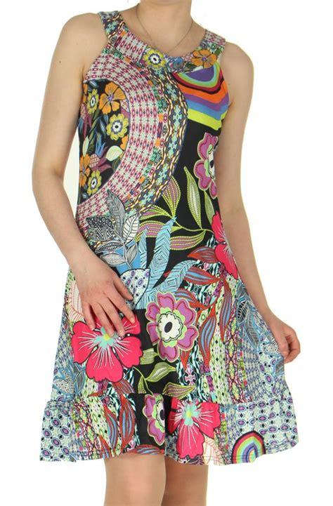 robe courte fluide ete robe courte d ete fluide et originale sans manches ludy