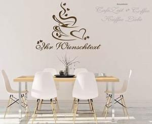 Sprüche Für Die Küche : wandtattoo f r die k che esszimmer kaffee tasse ~ Watch28wear.com Haus und Dekorationen