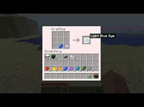 minecraft wool dyes youtube