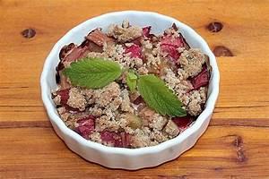 Rezept Rhabarber Crumble : rhabarber crumble rezept mit bild von leckerschmecker123 ~ Lizthompson.info Haus und Dekorationen