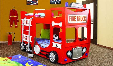 Kinderbett Feuerwehr Stockbett Hochbett Spielbett Autobett