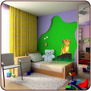 decoration chambre bebe roi lion With couleur mur bureau maison 14 deco chambre roi lion