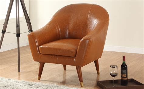 Furniture Idea Perfect Mid Century Modern Leather Chair