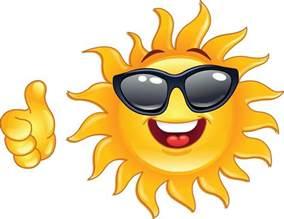 Sun Smiley Face Clip Art