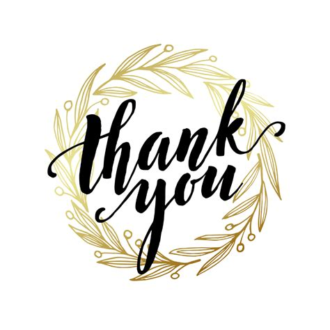A Round Of Thanks  Free Thank You Card Template