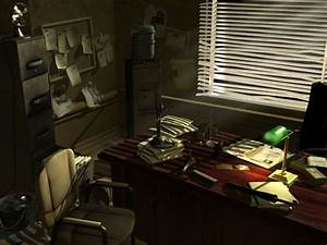 Detective's Office by johnvega3d.deviantart.com on ...