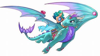 Dragon Lego Water Elves Clipart Wind Coloring
