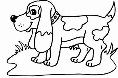 Coloring Pages Printable Dogs Birthday Happy Dog