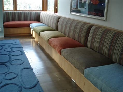 Living Room Banquette Seating