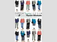 Old Navy Plus Size Capsule Wardrobe Winter to Spring