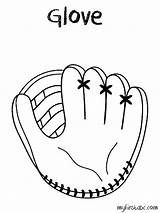 Glove Baseball Coloring Clipart Printable Mit Sketch Mitt Drawing Kid Template Clip Cliparts Pencil Transparent Drawn Bible Animal Pixels Silhouette sketch template