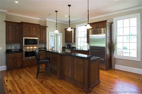 dark cabinets with wood floors two tones style with kitchen colors with dark wood