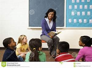 Teacher Reading To Students Royalty Free Stock Photo ...